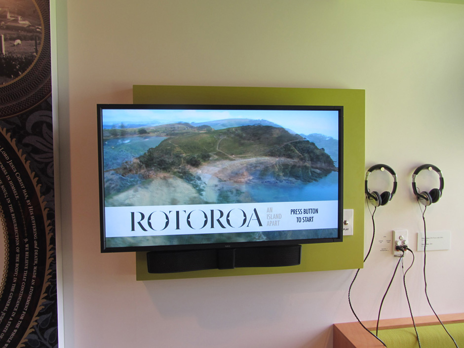 Rotoroa Island Exhibit